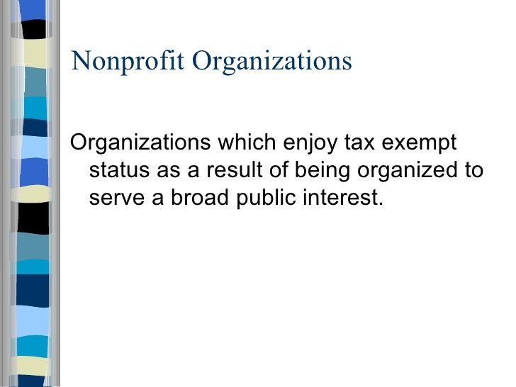 strategic issues in nonprofit management nonprofit organizations