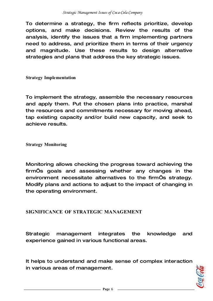 a case analysis of the company crocs inc and its strategic management to address issues Case studies introduction a summary of the case analysis process c-2 preparing an effective  a large, diversified firm the strategic management issues facing not-for-profit organisations also can be  basically, the case analysis method calls for a care-ful diagnosis of an organisation's current conditions (as manifested by its.