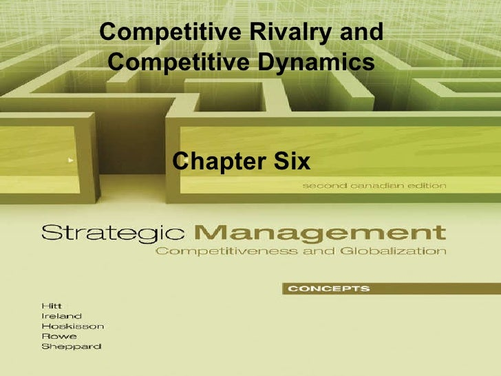 Competitive Rivalry and Competitive Dynamics Chapter Six