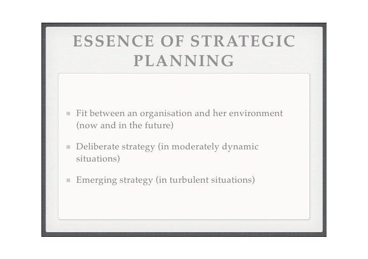Strategic Platform 2008