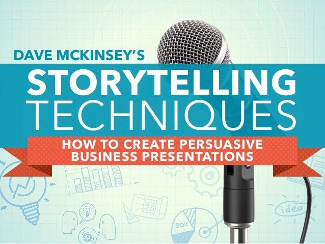 Storytelling presentation