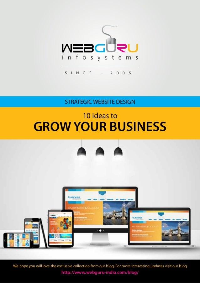 Strategic Website Design: 10 Ideas to Grow Your Business
