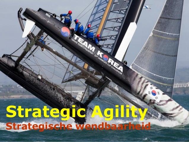 Strategic Agility Strategische wendbaarheid