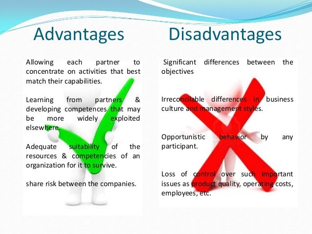 advantages and disadvantages of a quality control sheet
