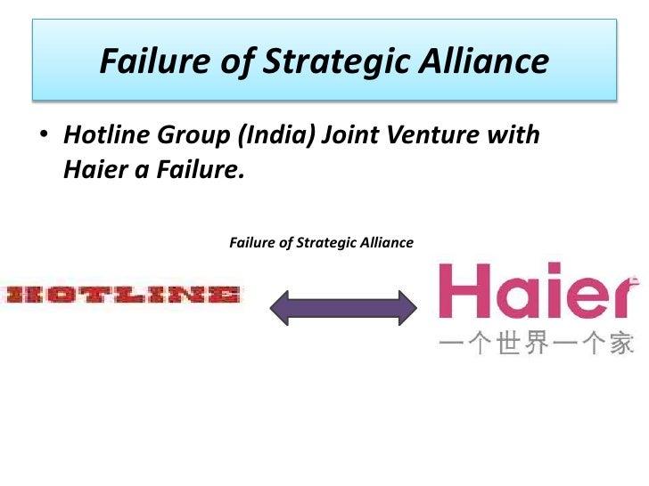 strategic alliances fit or failure