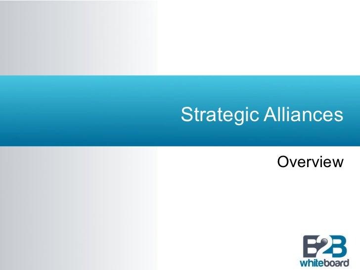 Strategic Alliances Overview