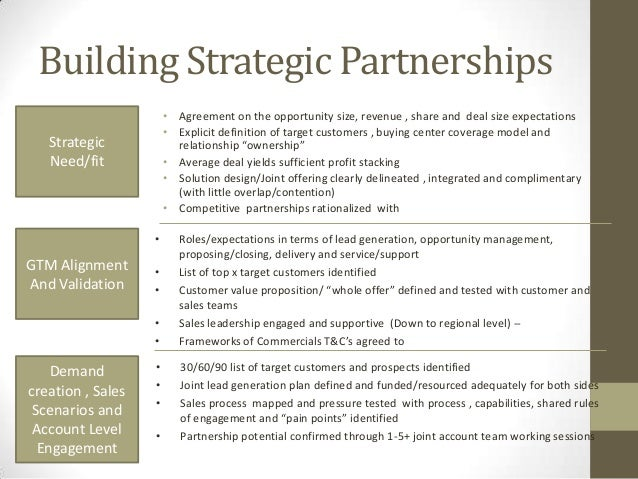 Why Strategic Alliances Fail To Became Strategic Partnerships