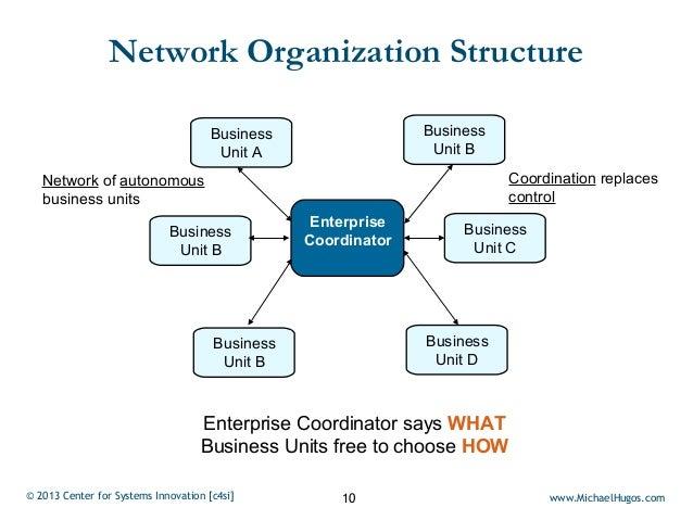 Network Organization Structure                                      Business                 Business                     ...