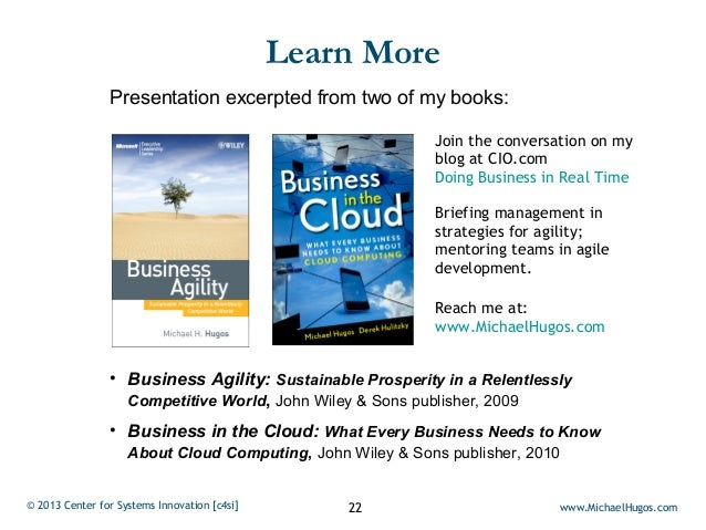 Learn More                Presentation excerpted from two of my books:                                                    ...
