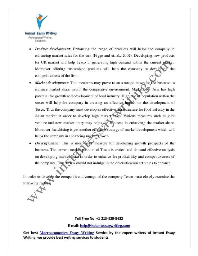 sample on strategic analysis by instant essay writing  18