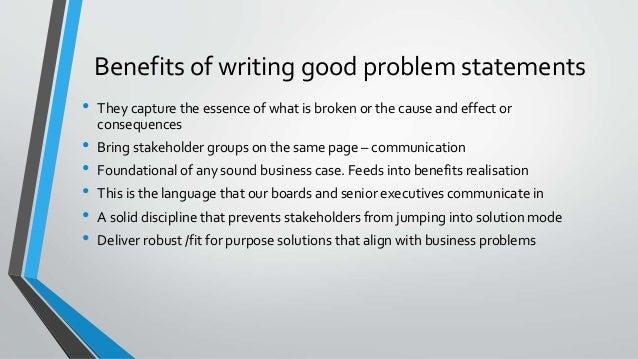 Strategic Analysis Defining Problem Statements