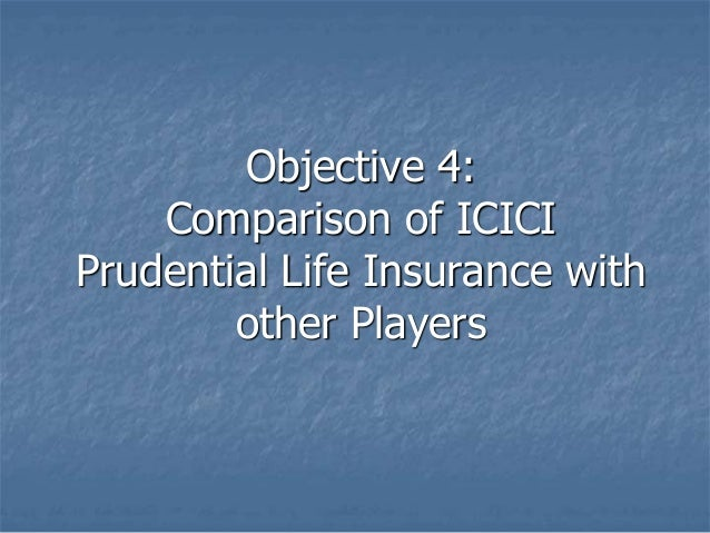 Strategic analysis and analyzing on icici prodential life ...