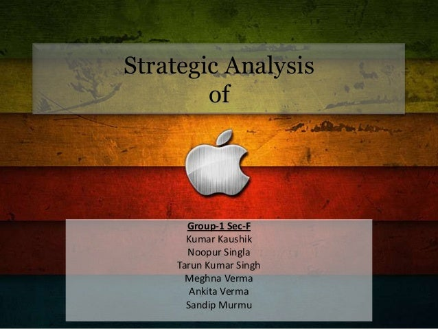 apple inc: a strategic view essay 10 introduction this is a report analysing the strategic management process and details in apple computer apple computer is selected because it is one of the respectable firms, that turnaround from a near bankruptcy position, due to the successful transformation of the company by steve jobs (cusumano, 2010 elkind, 2008 kirkpatrick, 2008.