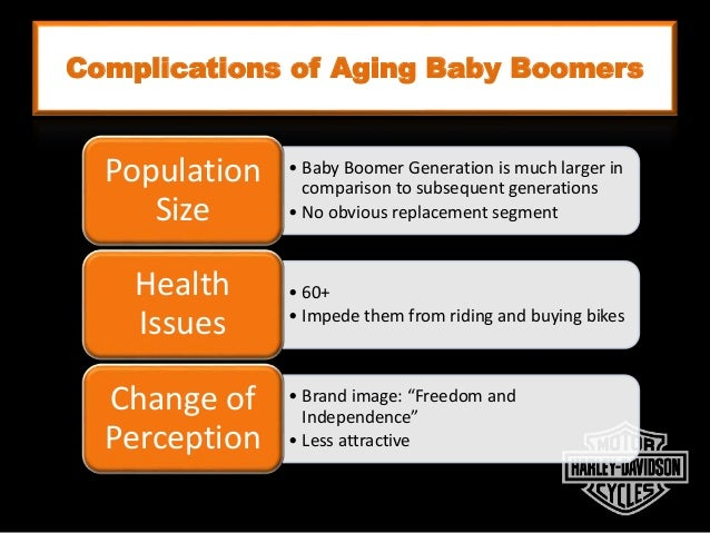 Complications of Aging Baby Boomers • Baby Boomer Generation is much larger in comparison to subsequent generations • No o...