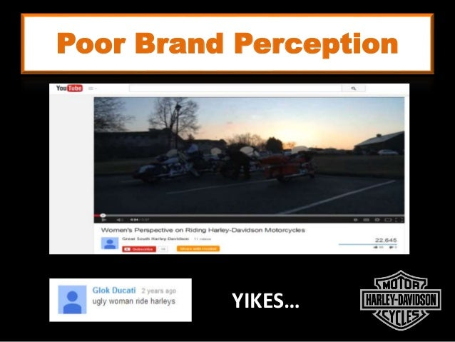 Poor Brand Perception YIKES…