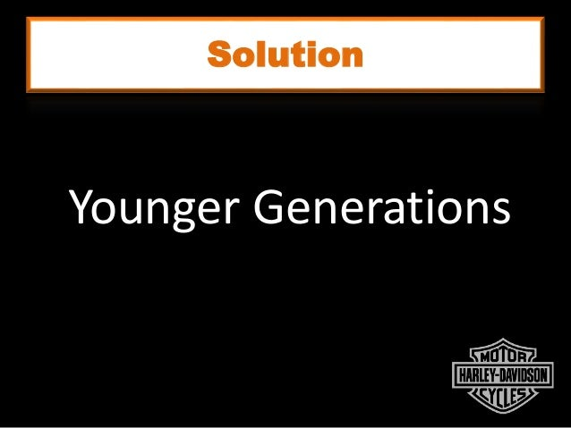 Solution Younger Generations