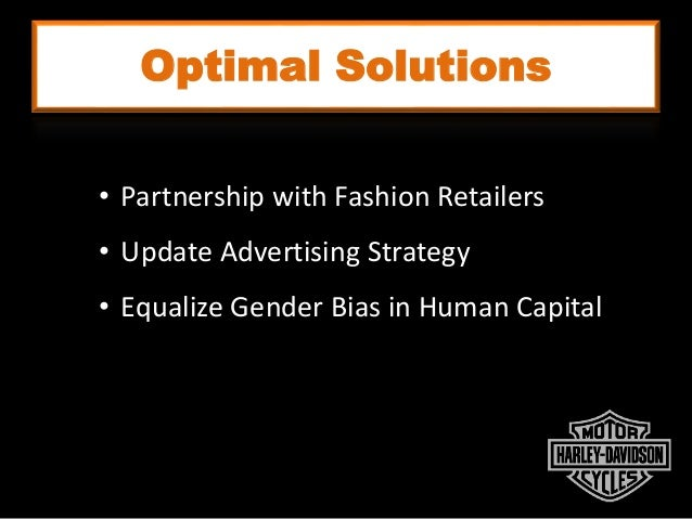 Optimal Solutions Macho Independent Sexy Empowered • Partnership with Fashion Retailers • Update Advertising Strategy • Eq...