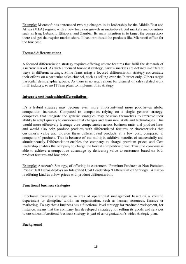 Industry Analysis Example. Industry Analysis Report,Porter's Five ...