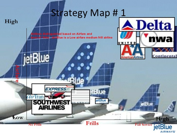 an analysis of jetblue airlines Airways magazine news  analysis: what is jetblue doing in  which have come under fire from southwest airlines jetblue needs a more long-term.