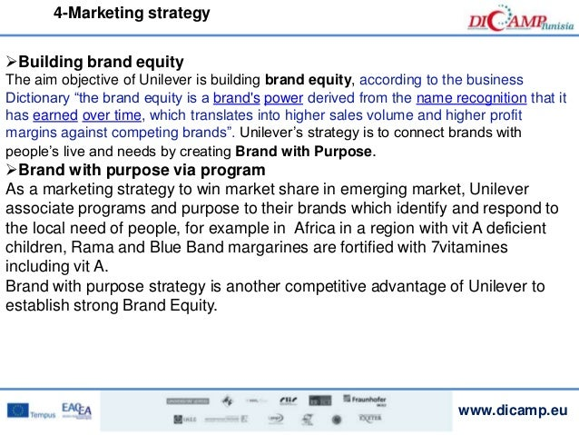unilever marketing strategy Unilever dove marketing strategic marketing analysis of unilever's product and discusses marketing mix elements and the strategy to promote the.