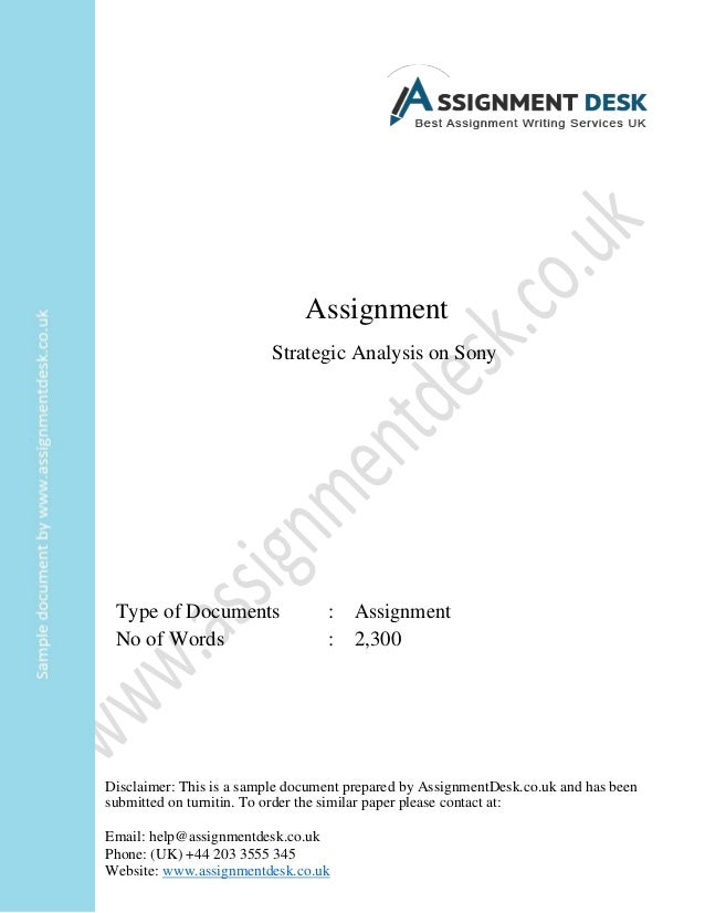 """strategic management sony Finlay, p (2000), """"strategic management: an introduction to business and corporate strategy"""",  evaluation of sony corporation's strategy."""