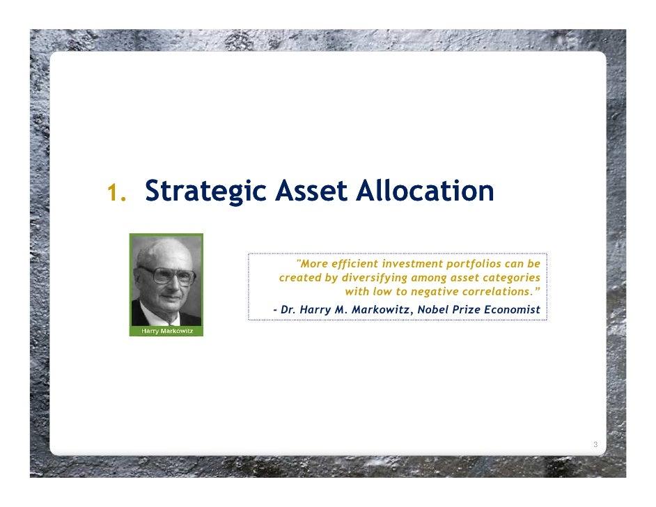Strategic Asset Allocation Slide 3