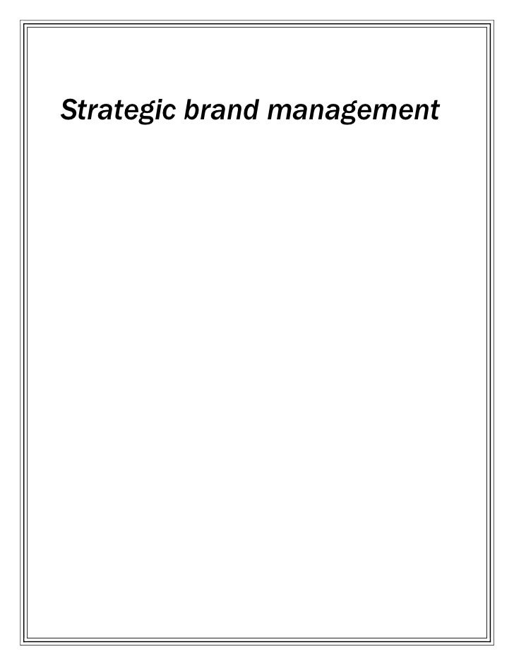 Strategic brand management<br />vim liquid                                <br />                                          ...