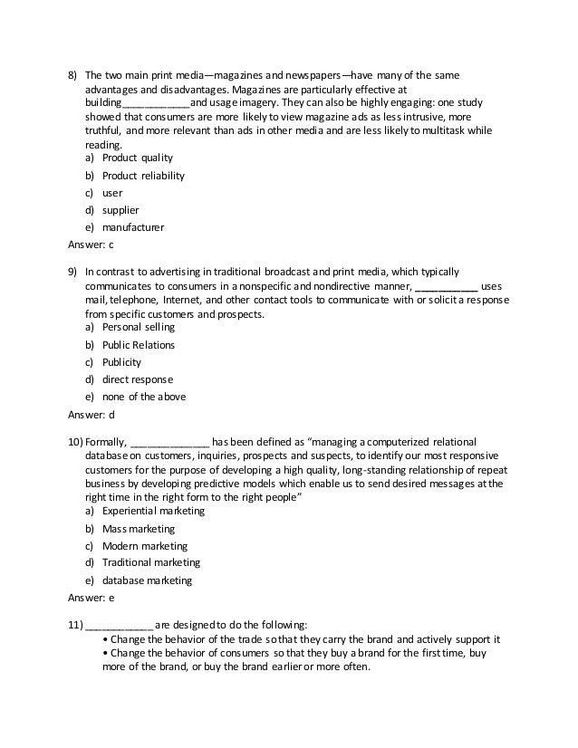 Strategic Brand Management Review English 2 6 2015