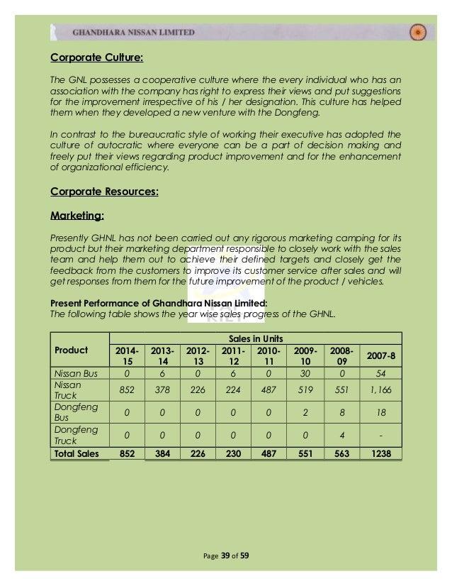 nissan external auditor