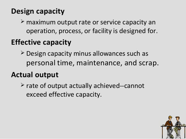strategic capacity planning for products and services pdf