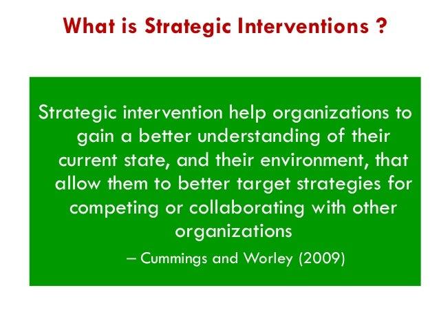 strategic intervention definition