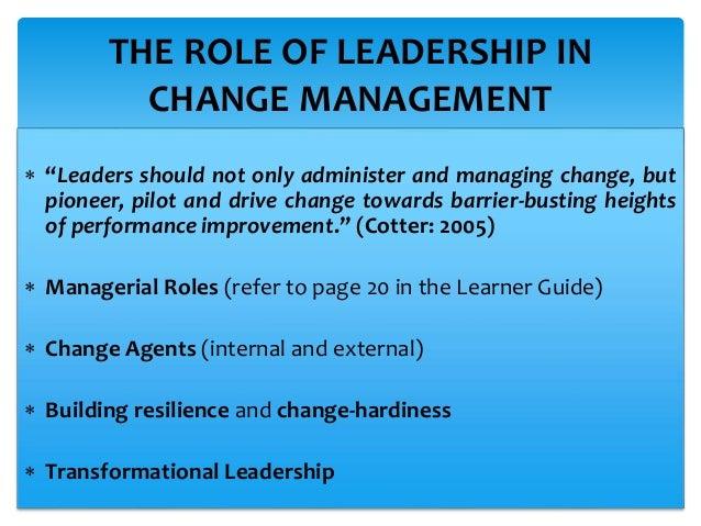 strategic change management processes and methods rh slideshare net Change Management Skills for Leadership change management leadership guide ryerson