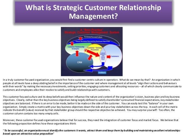 strategic customer management Strategic portfolio management drives customer-obsessed company success executive overview: the strategic portfolio management playbook february 8, 2017.