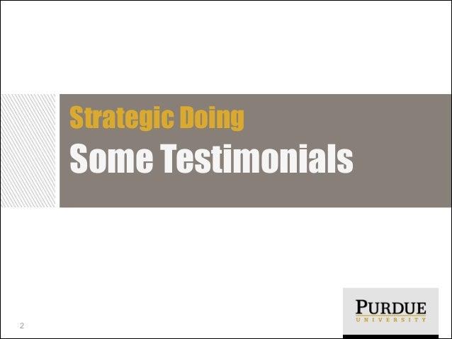Strategic Doing  Some Testimonials  2