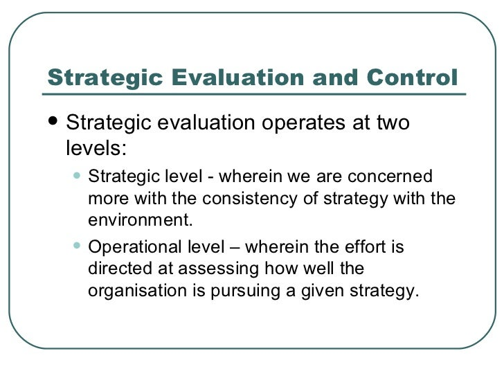 important issues in strategic management