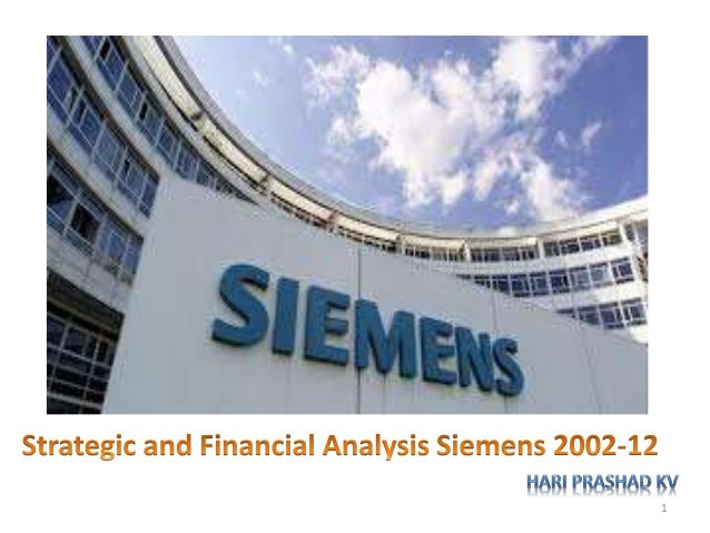 Strategic & Financial Analysis Siemens(2002-2012)