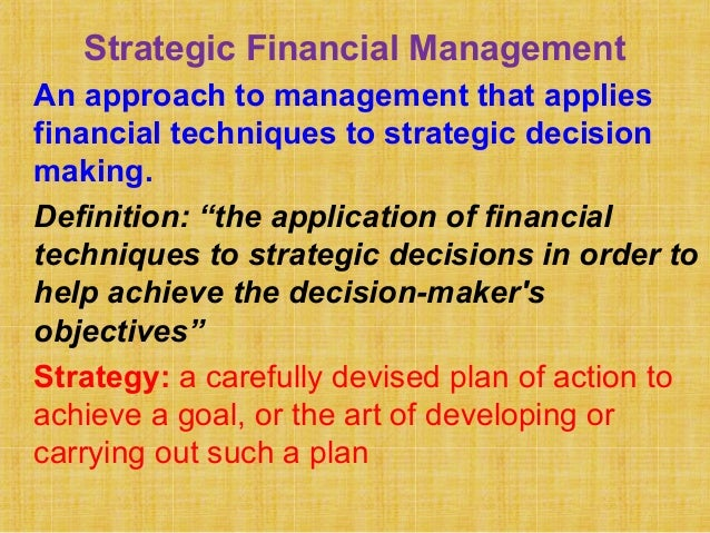 plan financial management approaches Financial management 2: planning and it is the only comprehensive approach to managing so far financial management 2: planning and budgeting cost.