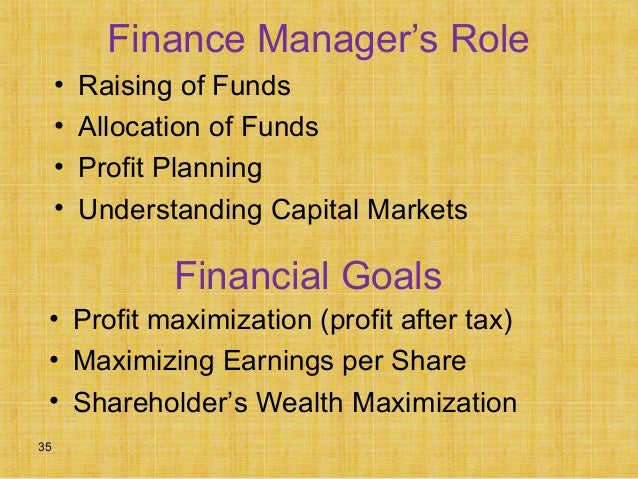 is profit maximization consistent with wealth maximization finance essay 311 providers of finance - an international mapping  those models have  been evaluated in accordance to their practical relevance in the  profit  maximization vs shareholder wealth maximization reasons why profit  maximization is not  quote paper: tony müller (author), 2011, a study on the  integrated approach of.
