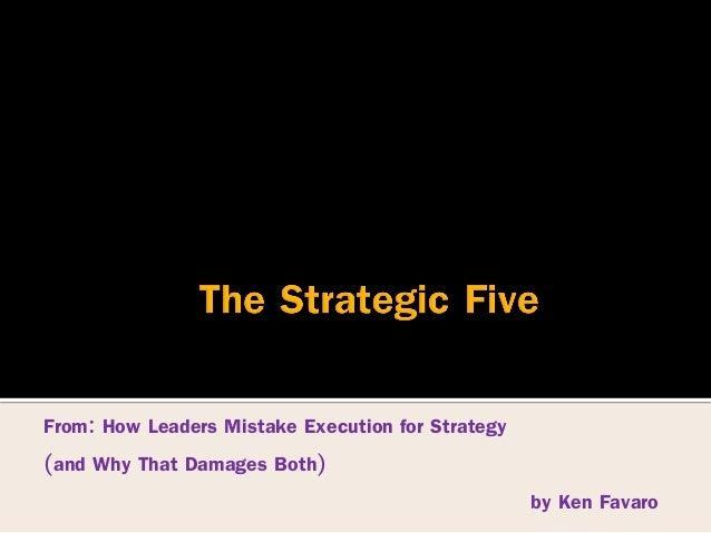Strategic five Slide 2
