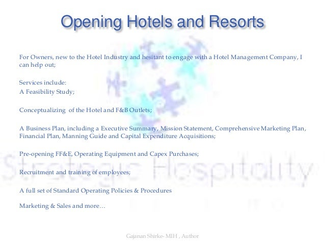 executive summary business plan hotels