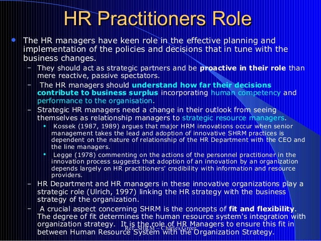 hr roles and responsibilities essay 2015-7-23 adding value: a guide for boards and hr committees  understand their evolving roles and responsibilities,  adding value: a guide for boards and hr committees.