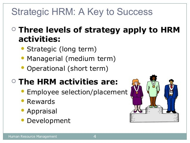 human resource activities and strategies Human resources professionals have moved from supporting players to leading roles in many companies' business strategies here's what this shift means for your hr.