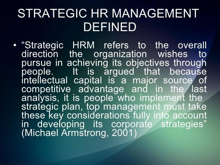 strategic human resource management mello jeffrey a