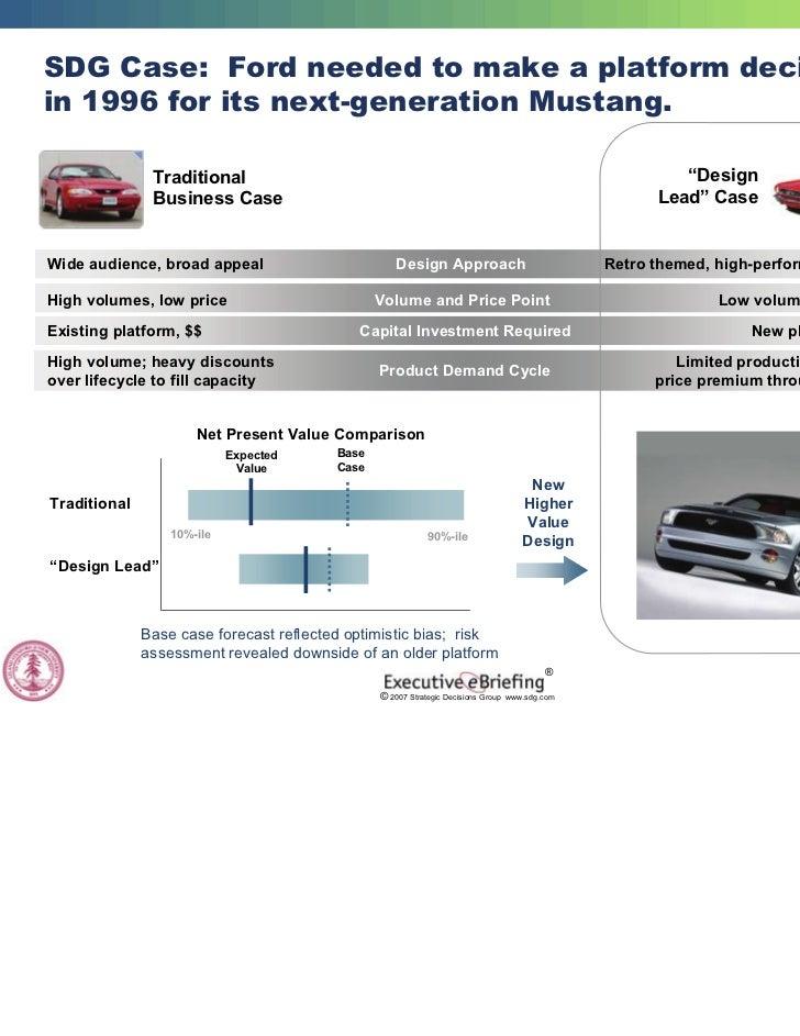 Strategic innovation sdg stanford university for Ford motor company risk assessment