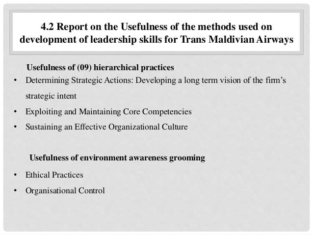 methods of developing strategic leadership skills
