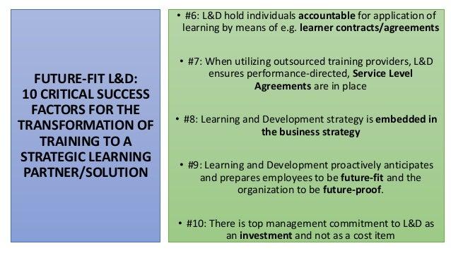 Strategic Learning And Development Masterclass 2020