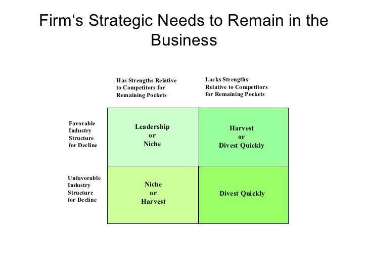 strategic management and industry structure Analysis from a strategic management perspective ass prof  chandler's  strategy and structure  its performance will affect the market's future structure.