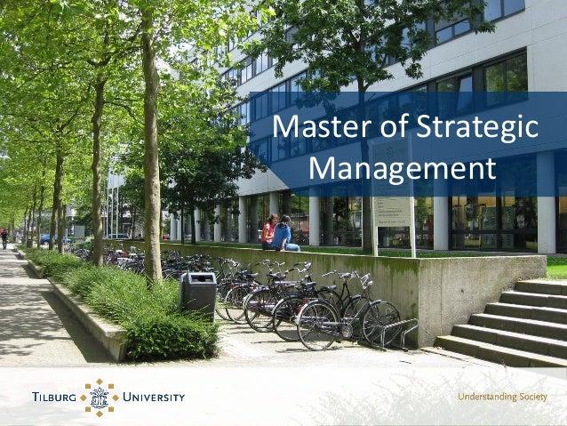Master of Strategic Management