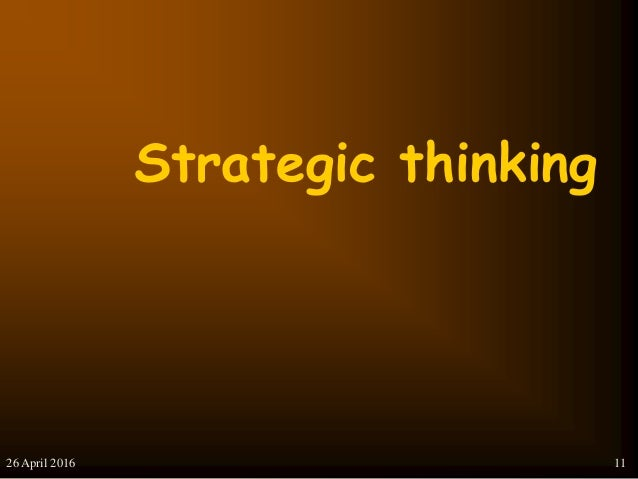 conventional approaches to strategic management Traditional strategic planning models don't work, certainly not in the rapidly   management and business strategy, chaired professor of management studies at  mcgill  the traditional approach to strategic planning models.