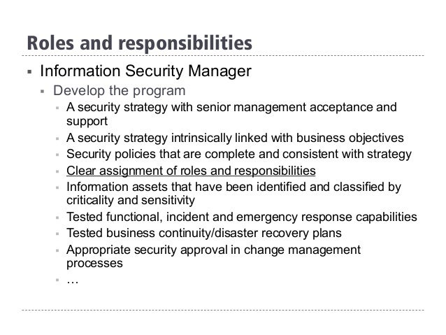 security manager duties and responsibilities pdf